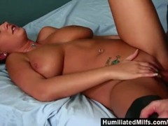HumiliatedMilfs – Mature big tits in a jail cell gets slammed by hard cock. Thumb