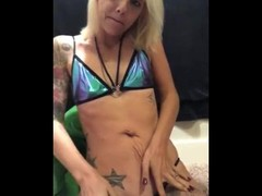 Kalaina Kills sexy smoking strip tease and squirting Thumb
