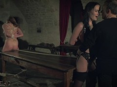Kinky sex game and bondage sex for two slaves ready to please you Thumb