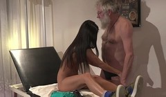Angela fucks old therapist - Get full scene at PornoPyro com Thumb
