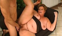 BBW grandma gets her old pussy licked and fucked Thumb