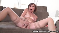 64-year-old Euro granny Danina is a passionate masturbator Thumb